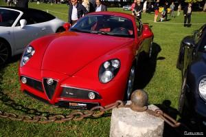Alfa Romeo 8C, toujours aussi belle.