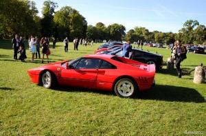 Une très rare Ferrari 288 GTO. Quel plaisir de la voir ici.