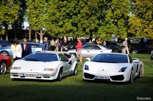 Choc de génération entre deux Lamborghini.