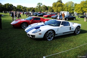 Duo de Ford GT