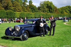 BENTLEY 4 1/4 Litres Pillarless Coupe 1936