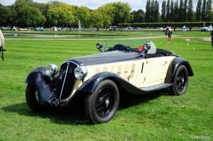 BENTLEY 8 Ltr. Le Mans Type 4-Seater Sports by Vanden Plas 1932
